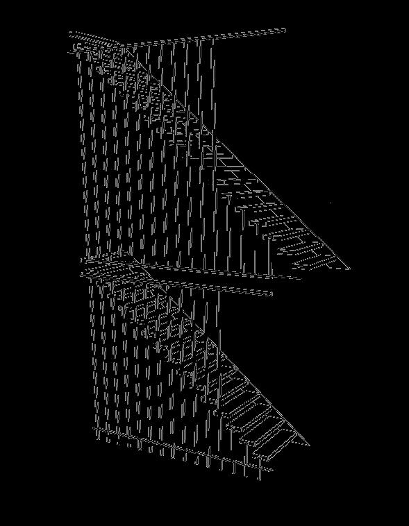 semi zwevende trap Aerdenhout - zonder