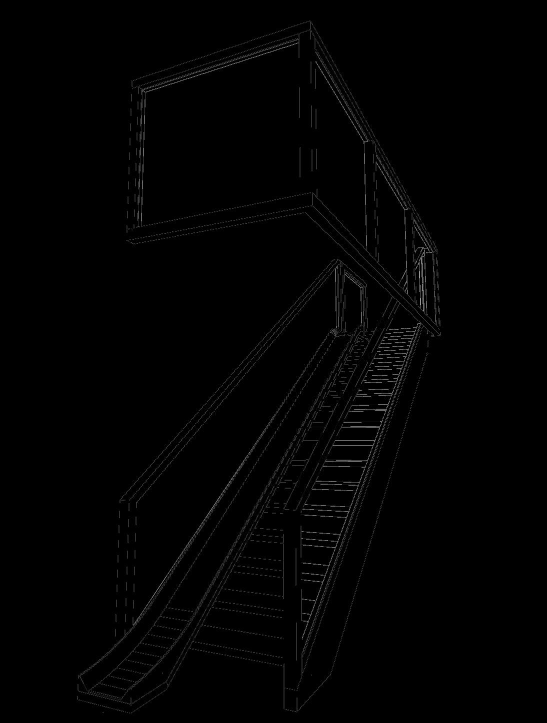 Glijbaan trap Amsterdam